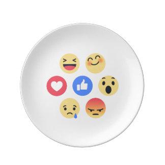 emoji 磁器プレート