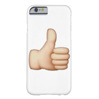 Emoji -親指 barely there iPhone 6 ケース