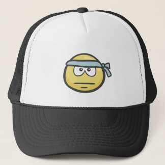 Emoji: 辛抱の顔 キャップ