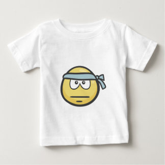 Emoji: 辛抱の顔 ベビーTシャツ