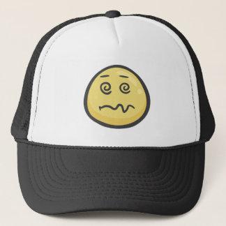 Emoji: 顔にめまいを起こさせて下さい キャップ