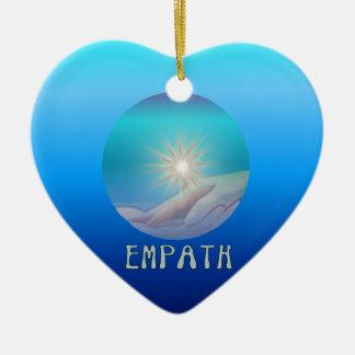 Empath 陶器製ハート型オーナメント