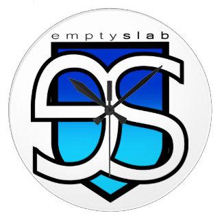 emptyslabの時計 ラージ壁時計