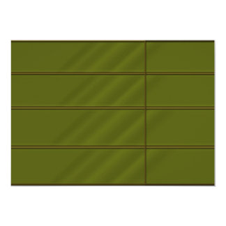 Emrald nの金ゴールドの組合せの豊富なサテンの一見 カード