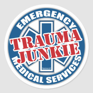 EMSの外傷の麻薬常習者 ラウンドシール