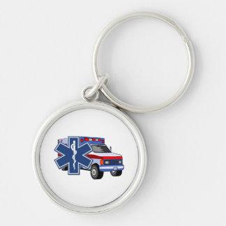 EMSの救急車 キーホルダー