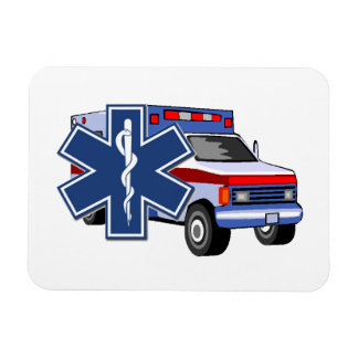 EMSの救急車 マグネット