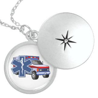 EMSの救急車 ロケットネックレス