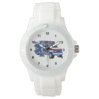 EMSの救急車 腕時計