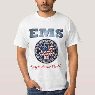 EMSは呼出し基本的なワイシャツに答えます Tシャツ