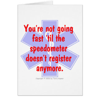 EMS 「まで…速く行っていません(カード) カード