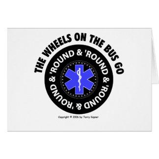 EMS -バスの車輪-タイヤ#2のカード カード