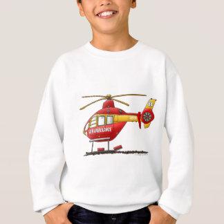 EMS EMTの救助の医学のヘリコプターの救急車 スウェットシャツ