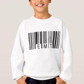 EMTのバーコード スウェットシャツ