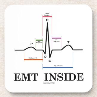 EMTの内部(湾曲のリズムの心電図) コースター