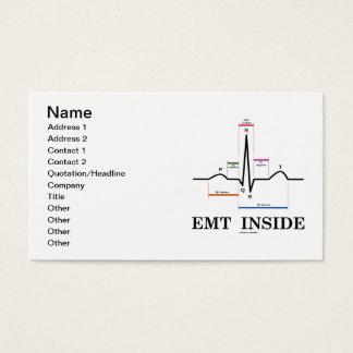EMTの内部(ECG/EKGの心電図) 名刺