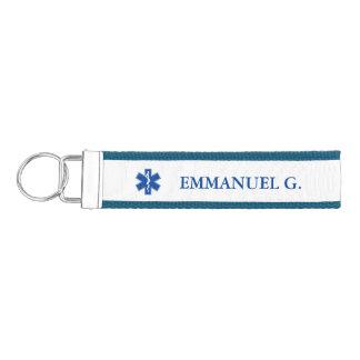 EMTの救急医療隊員の記号の習慣 リストバンドキーホルダー