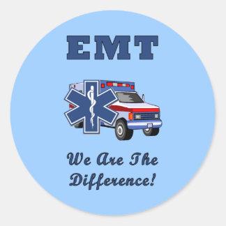 EMT私達は相違です ラウンドシール