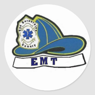 EMT|ヘルメット 丸形シール・ステッカー