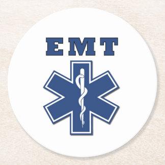 EMT ラウンドペーパーコースター