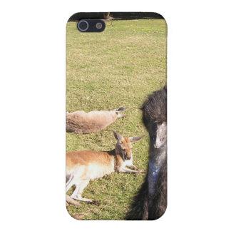 EMUおよび2頭の不精なカンガルー iPhone 5 カバー