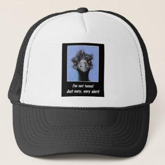 EMU: 緊張したボスまたは他のためのおもしろいなことわざ キャップ