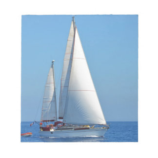 EMYRのヨットのプレリュード ノートパッド