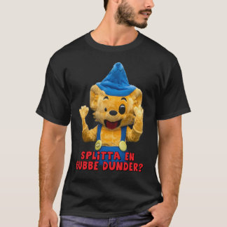 En gubbe dunder - Mönster fram Tシャツ