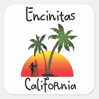Encinitasカリフォルニア スクエアシール