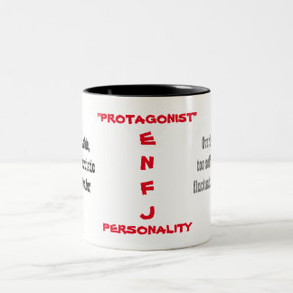 ENFJ人格マグ ツートーンマグカップ