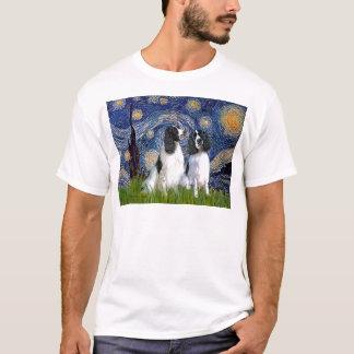 Engilshのスプリンガーの組-星明かりの夜 Tシャツ