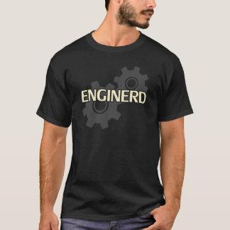 Enginerdエンジニアのおたく Tシャツ