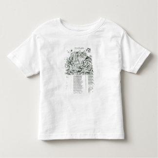 Englandsの奇跡的な保存 トドラーTシャツ