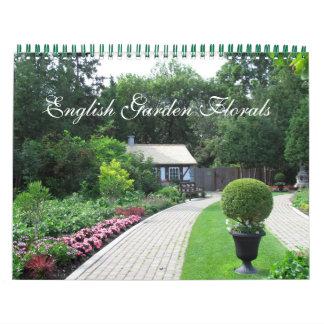 English Garden Florals Calendar カレンダー