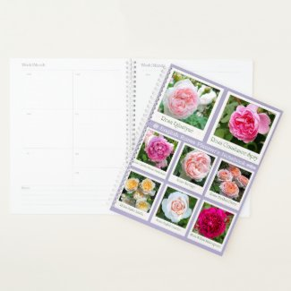 English Roses Planner's Notebook プランナー手帳