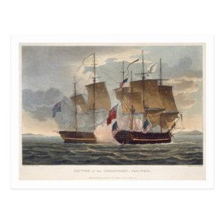 engrチェサピークの捕獲、1813年6月1日 ポストカード