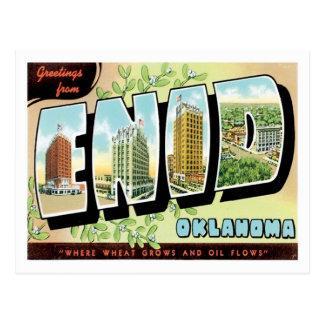 Enidオクラホマ米国都市からの挨拶 ポストカード