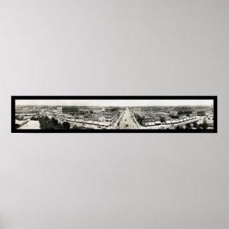 Enid、コート・ハウスの写真1908年からのオクラホマ ポスター