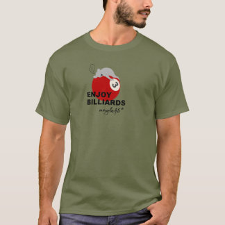 enjoy billiards! tシャツ