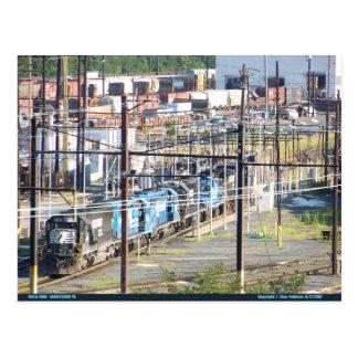 Enolaノーフォークの南鉄道ヤードのHarrisburg PA ポストカード