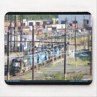 Enolaノーフォークの南鉄道ヤードのHarrisburg PA マウスパッド
