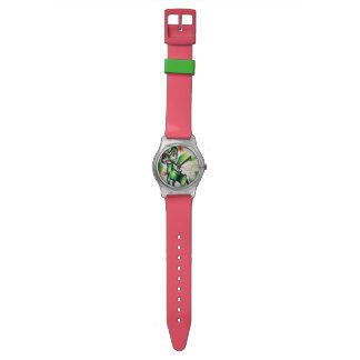 Ensorcelledスイカの子猫 腕時計