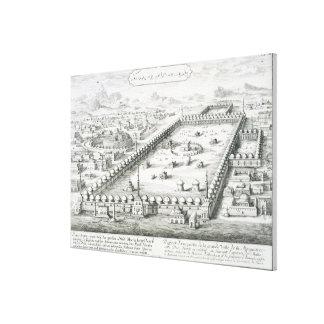 「Entwurfのeinerからのメッカの眺めは、Arをhistorischen キャンバスプリント