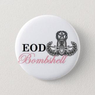 eodのマスターの爆弾 5.7cm 丸型バッジ