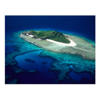 Eoriの島、Mamanucaの島、フィージー-アンテナ ポストカード