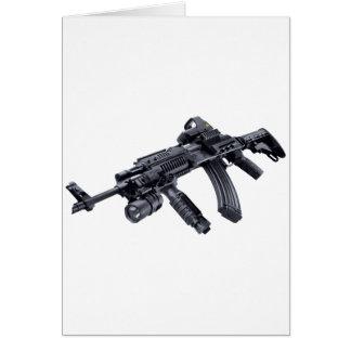 EOTechは戦術的なカラシニコフ自動小銃の突撃銃を見ました カード