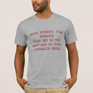EoTLの効果:  あなたが最下で…得る感じ Tシャツ