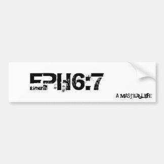 EPH6: 7 バンパーステッカー