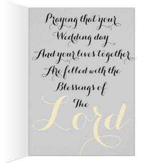 Ephesiansの5:28および1John 4:19の結婚式の招待状 カード