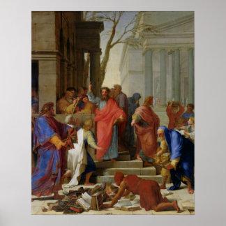 Ephesus 1649年のセントポールの説教 ポスター